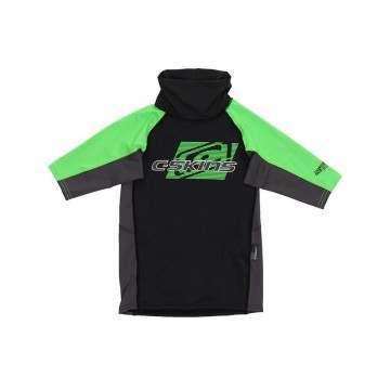 CSkins Youth UV Rashvest Graphite/Green