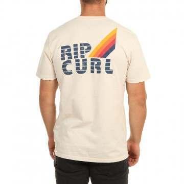 Ripcurl Surf Revival Strip Tee Bone