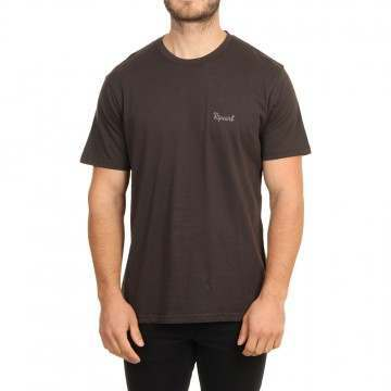 Ripcurl Saltwater Eco Tee Washed Black