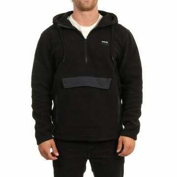 Hurley Anorak Sherpa Fleece Black