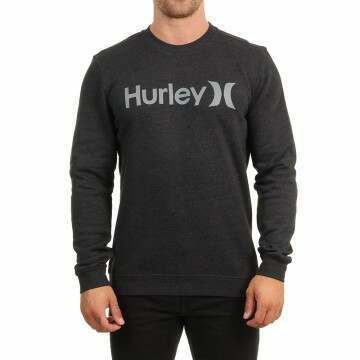 Hurley One And Only Crew Black Heather