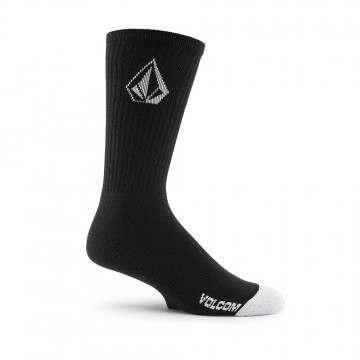 Volcom Full Stone Socks 3PK Black