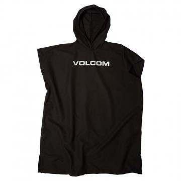 Volcom Stone Towel Changing Poncho Black