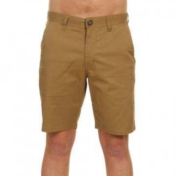 "Volcom Frickin Mdrn Stch Shorts 19"" Dark Khaki"