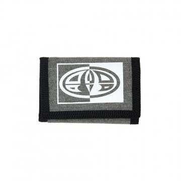 Animal Tonga Tri-Fold Wallet Grey