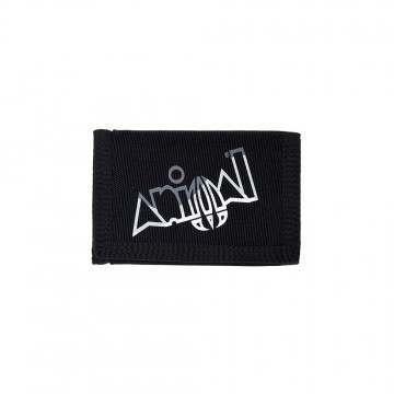 Animal Kauai Tri-Fold Wallet Black