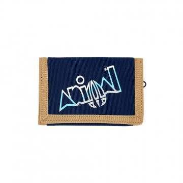 Animal Kauai Tri-Fold Wallet Indigo Blue