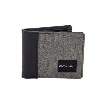Animal Reunion Bi-Fold Wallet Grey