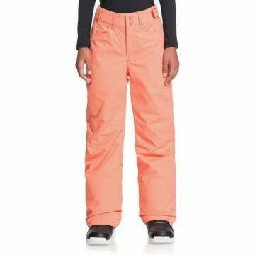 Roxy Girls Backyard Snow Pant Fusion Coral
