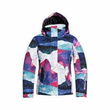 Roxy Girls Jetty Snow Jacket Bright White