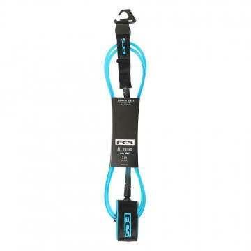 FCS All Round Essential Surf Leash 7FT Blue/Black