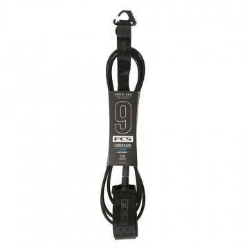 FCS All Round Calf Essential Surf Leash 9FT Black