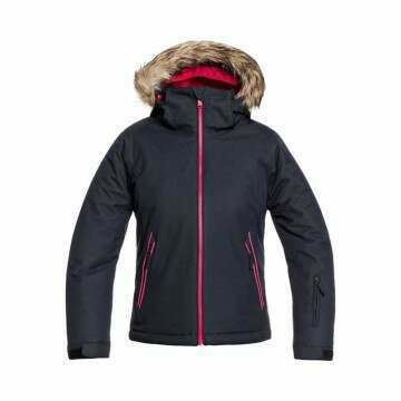 Roxy Girls Jet Ski Solid Snow Jacket True