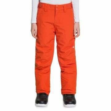 Quiksilver Boys Estate Snow Pants Pumpkin