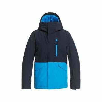 Quiksilver Boys Solid Snow Jacket Blue