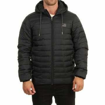Quiksilver Scaly Hood Jacket Black