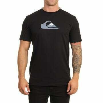 Quiksilver Comp Logo Tee Black