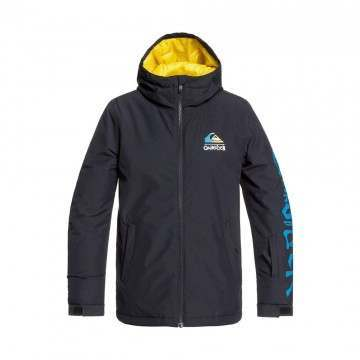 Quiksilver Boys In The Hood Snow Jacket Black