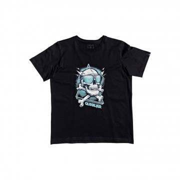 Quiksilver Boys Hell Revival Tee Black