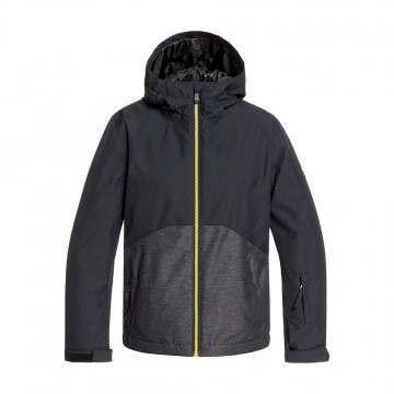 Quiksilver Boys Sierra Snow Jacket Black