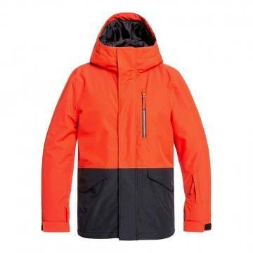 Quiksilver Boys Mission Snow Jacket Poinciana