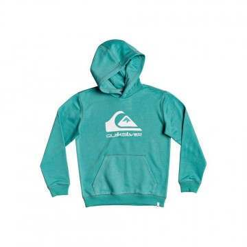 Quiksilver Boys Big Logo Hoody Sea Blue