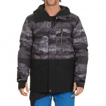 Quiksilver Mission Pr Block Snow Jacket Black