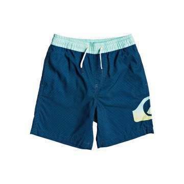 Quiksilver Boys Dredge Volley Shorts Blue