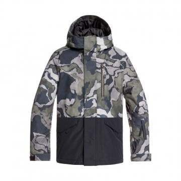 Quiksilver Boys Mission Block Snow Jacket Sir Ed