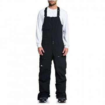 Quiksilver Utility Bib Snow Pants Black