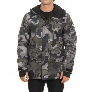 Quiksilver Mission Print Snow Jacket Sir Edwards