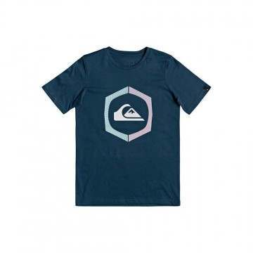 Quiksilver Boys Sure Thing Tee Majol Blue