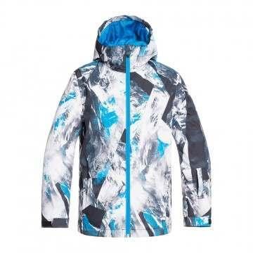Quiksilver Boys Mission Print Snow Jacket Clois