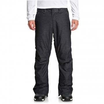 Quiksilver Estate Text Snow Pants Black Htr