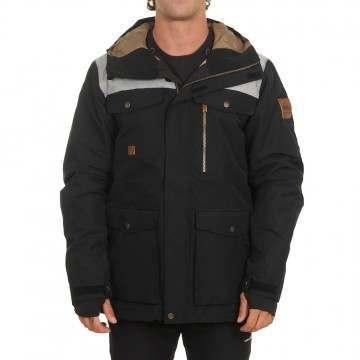 Quiksilver Raft Snow Jacket Black