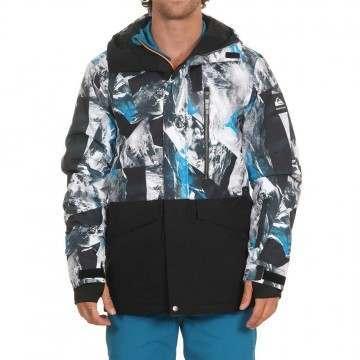 Quiksilver Mission Pr Block Snow Jacket Cloisonne