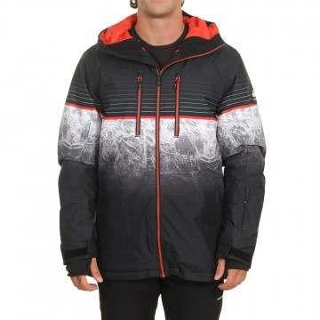 Quiksilver Silvertip Snow Jacket Black Benzal