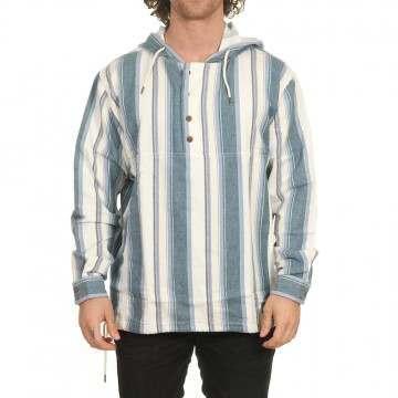 Quiksilver Neo Blue Hooded Jacket Inca