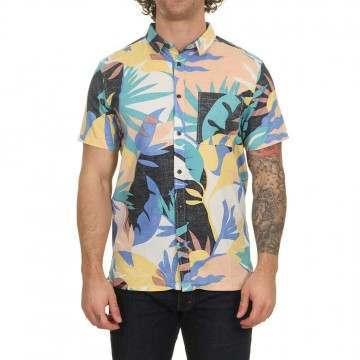 Quiksilver Tropical Flow Shirt Snow White