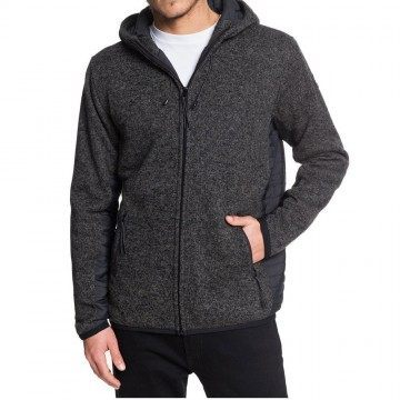 Quiksilver Keller Puff Polar Fleece Dark Grey