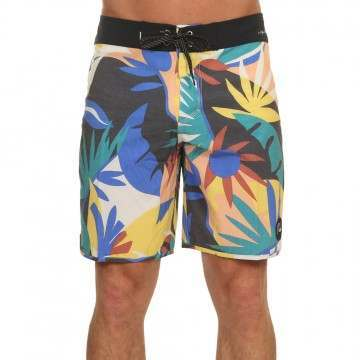 Quiksilver Highline Tropical Boardshorts White