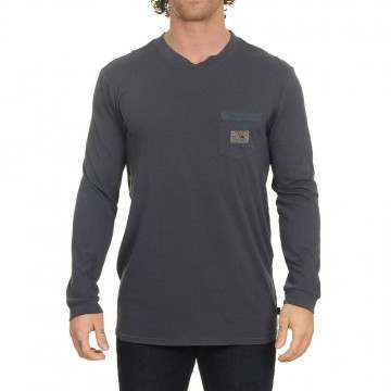 Quiksilver Sub Mission Long Sleeve Top Blue