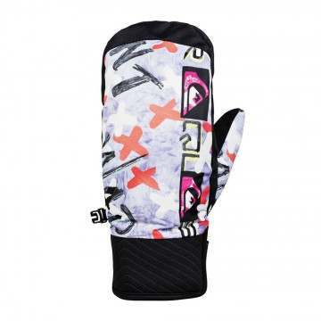 Quiksilver Anniversary Method Snow Mitts Warpaint