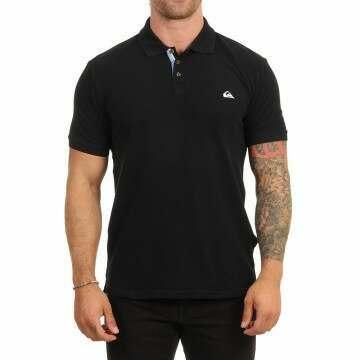 Quiksilver Loia Polo Shirt Black