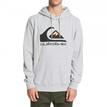 Quiksilver Comp Logo Hoody Athletic Heather