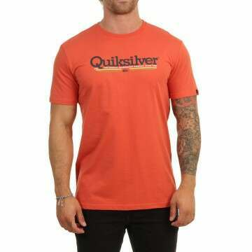Quiksilver Tropical Lines Tee Chili
