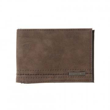 Quiksilver Stitchy Wallet Chocolate Brown