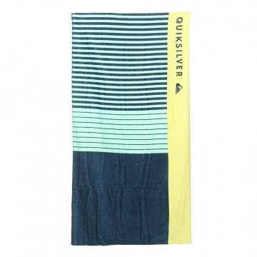 Quiksilver Freshness Beach Towel Blue/Yellow