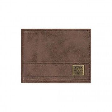 Quiksilver New Stitchy Wallet Chocolate Brown