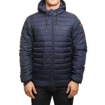 Quiksilver Scaly Hood Jacket Navy Blazer
